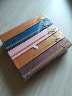 長型首飾紙盒