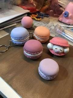 Handmade macaroon charm/miniature