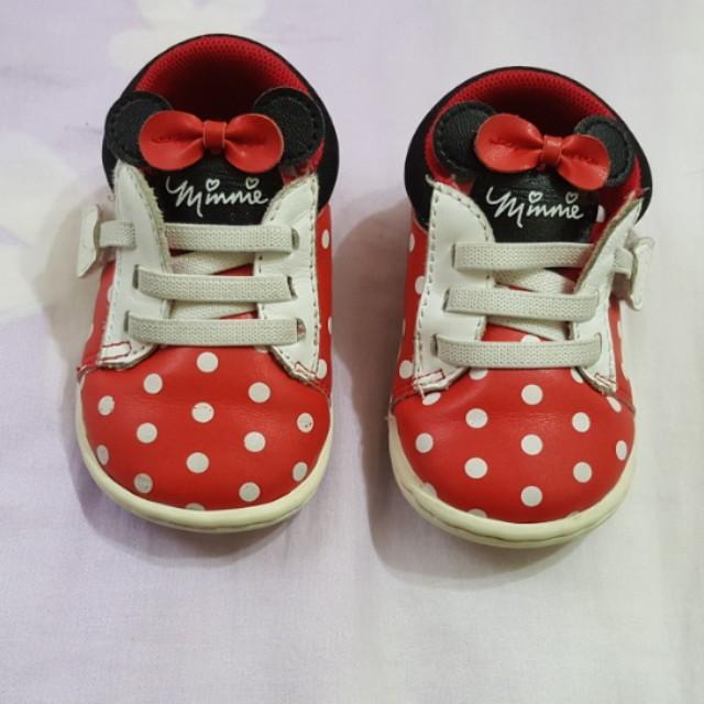 麗嬰房米妮女寶鞋(13)