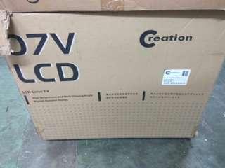 全新27吋LCD電視未開箱