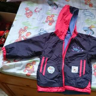 Reversible winter jacket