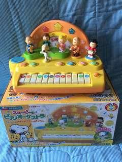 Peanuts Snoopy Piano 史路比 兒童 電子琴