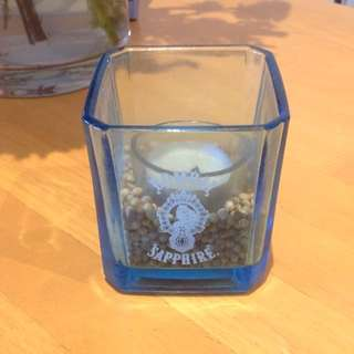 Bombay Sapphire Gin Bottle Candle Holder