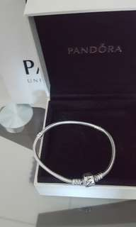 "🍭 Authentic Pandora Bracelet 19"" ❤"