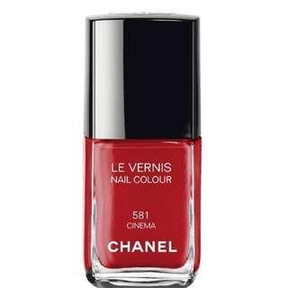 Authentic Chanel Nail Polish 581