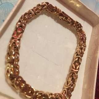 Gold bracelet 18k Saudi 39.5 grams