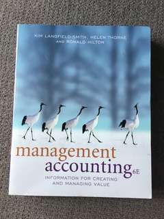 Management Accounting 6E
