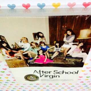 Afterschool-Virgin (CD with photobook)(Sealed)