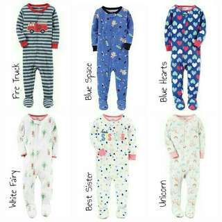 Sleepsuit Carter's Blue Space 3T TERMURAH