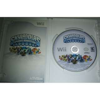 (Wii game disc, NTSC US) :: Skylanders Spyro's Adventures