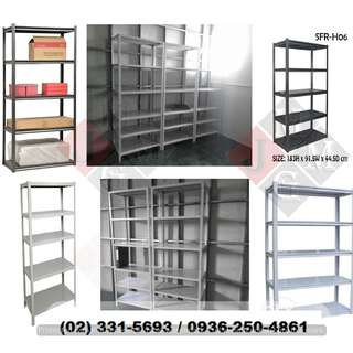 Steel Rack ( adjustable shelves ) Office Partition **