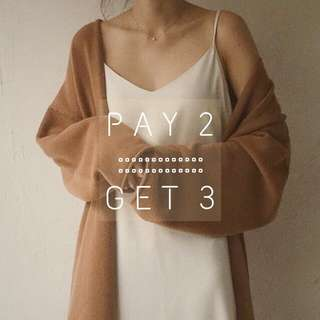 SPECIAL PROMO :: PAY 2 GET 3