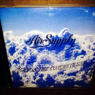 Air Supply	-	Across The Concrete Sky	CD