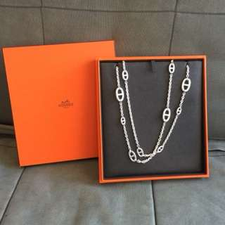 Hermes 豬鼻鏈120cm necklace