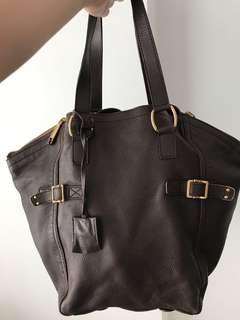 YSL downtown tote bag
