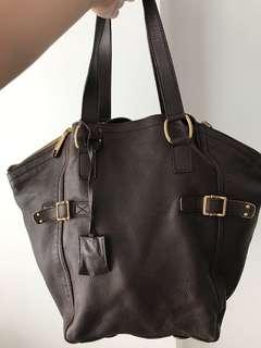 YSL downtown tote bag