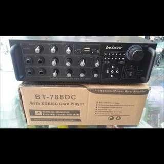 Betavo BT 788 DC Original amplifier ampli profesional power mixer