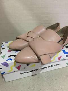 Adorable Projects Shoes - Quirky Pink Point Loafer