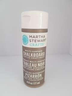 *bn*177ml Martha Stewart grey chalkboard paint acrylic paint
