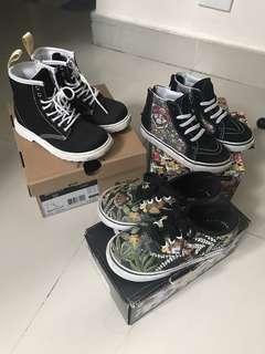 Vans Mario Disney kids shoes dr martens boots $180 for 3