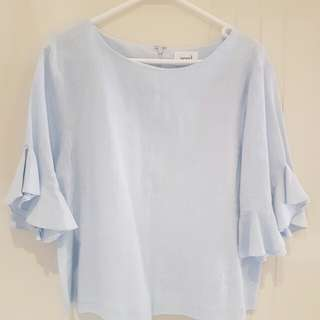 Seed Size 10 Linen Top