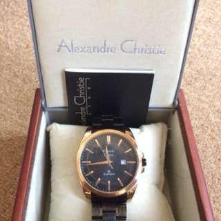 Jam Tangan Alexander Christie Pria Original
