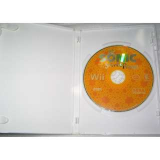 Sonic Secret Rings . Wii Game Disc for NTSC disc format consoles
