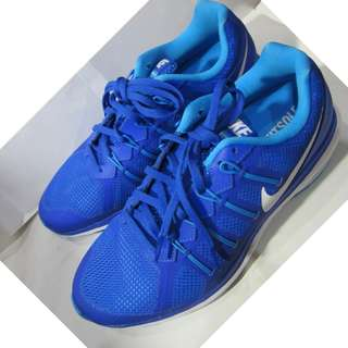 Nike Air Max Dynasty Women Running Shoes Racer Blue / Blue Glow/White size USA 10