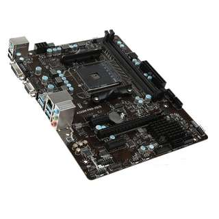 (二手) 99%NEW MSI微星A320M PRO-VD/S  DDR4,AMD主機板