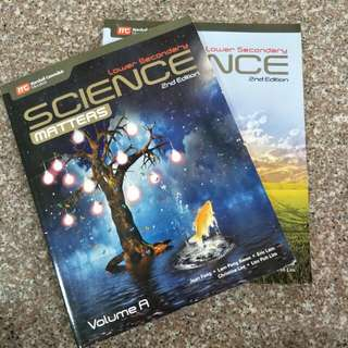 Lower Secondary Science Matters