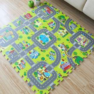 Korean Baby Play Mat - Traffic Design