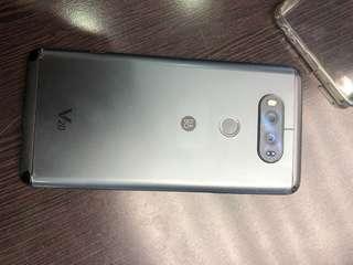 LG - V20 64GB 黑色  正常機用開  只係有花
