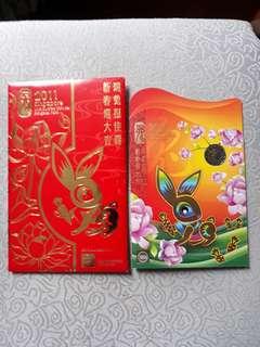 Hongbao Pack 2011 Year Of Rabbit