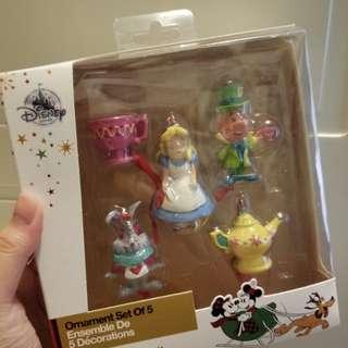 Disney Alice 愛麗絲 聖誕掛飾