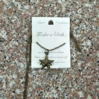 Necklace Starshape