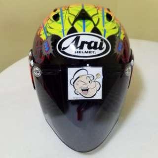 1203♡♡TSR RAM4 SCOTT RUSSELL Helmet CONVERT TO ARAI 🦀 For SALE, Yamaha Jupiter, Spark, Sniper,, Honda, SUZUKI