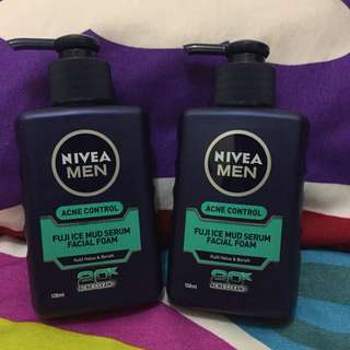Facial Wash Nivea Men for Acne Control