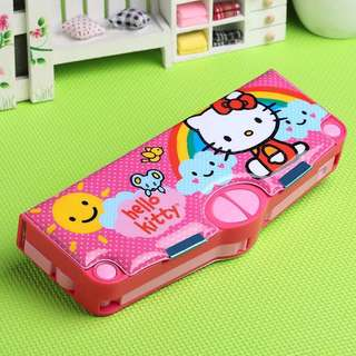 Brand New Hello Kitty Multi Functional Pencil Case