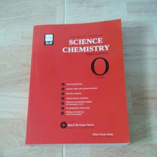 Combined Science Chemistry workbook