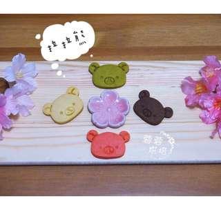 【拉拉熊小雞】超可愛卡通造型餅乾,生日派對/午茶點心/婚禮二進小物