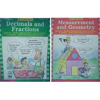 FUNTASTIC MATH : Decimals&Fractions / Measurement&Geometry