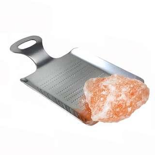 喜瑪拉雅山粉紅食用岩鹽塊 連日式研磨板套裝 Himalayan pink salt chunk with grater set