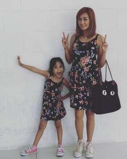 Mom&Baby Sakura Print Dress