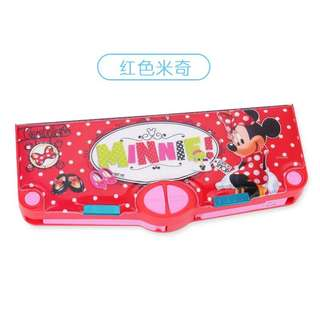 Brand New Minnie Multi Functional Pencil Case