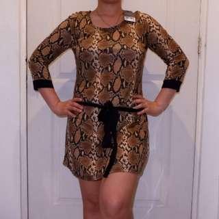 Next Animal Print Dress