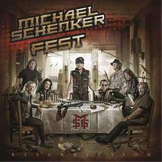 Michael Schenker Fest – Resurrection Limited Edn CD+DVD Digipack