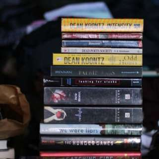 Assorted Young adult books / novels