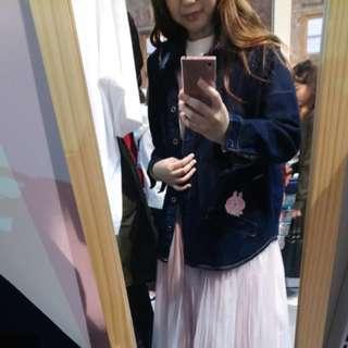 台灣限定 Kanahei 兔兔 牛仔外套