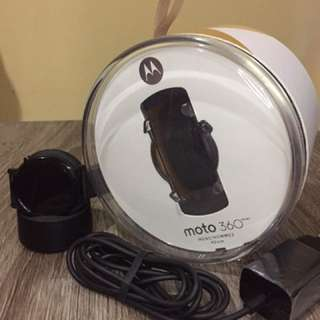 Moto 360 2nd Edition - Black 42mm