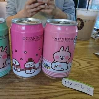 台灣限定 kanahei 兔兔 果汁 4款可選